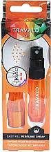 Fragrances, Perfumes, Cosmetics Atomizer - Travalo Ice Orange Refillable Spray