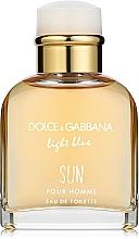 Fragrances, Perfumes, Cosmetics Dolce & Gabbana Light Blue Sun Pour Homme - Eau de Toilette