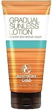 Fragrances, Perfumes, Cosmetics Self-Tanning Lotion - Australian Gold Gradual Sunless Lotion