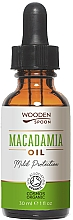 Fragrances, Perfumes, Cosmetics Macadamia Oil - Wooden Spoon Macadamia Oil