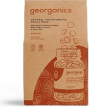 """Fragrances, Perfumes, Cosmetics Tooth Cleansing Tablets """"Orange"""" - Georganics Natural Toothtablets Orange (refill)"""