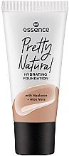 Fragrances, Perfumes, Cosmetics Foundation - Essence Pretty Natural Hydrating Foundation