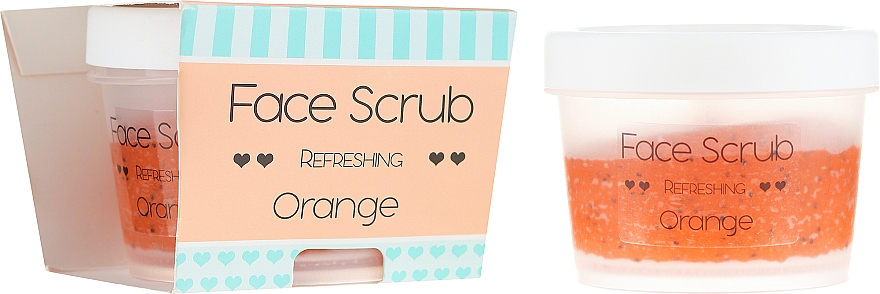 "Face and Lip Scrub ""Orange"" - Nacomi Refreshing Face Orange"
