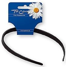Fragrances, Perfumes, Cosmetics Hair Hoop 27697, black - Top Choice Hair Headband
