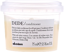 Fragrances, Perfumes, Cosmetics Delicate Conditioner - Davines Essential Haircare Dede Delicate Air Conditioning