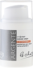 Fragrances, Perfumes, Cosmetics Nourishing Day Cream with Vitamin E - Le Chaton Argente Nourishing Day Cream with Vitamin E