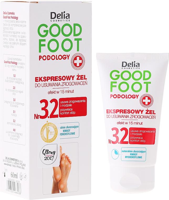 Anti-Callus Gel - Delia Cosmetics Good Foot Podology Nr 3.2
