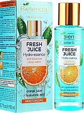 "Fragrances, Perfumes, Cosmetics Moisturizing Face Hydro Essence ""Orange"" - Bielenda Fresh Juice Hydro Essential Orange"