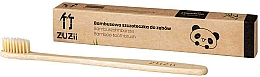 Fragrances, Perfumes, Cosmetics Bamboo Toothbrush with Soft Beige Bristles - Zuzii Soft Toothbrush