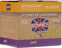 Fragrances, Perfumes, Cosmetics 9 Tones Lightening Hair Powder - Ronney Decolorant Professional Blondie