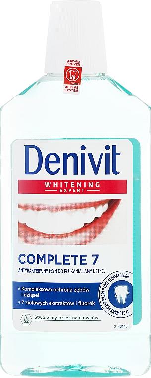 Antibacterial Mouthwash - Denivit Whitening Expert Complete 7 Mouthwash