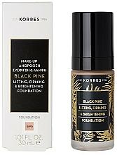Fragrances, Perfumes, Cosmetics Foundation - Korres Black Pine Lifting, Firming & Brightening Foundation