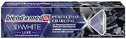 Fragrances, Perfumes, Cosmetics 3D Whitening Charcoal Toothpaste - Blend-a-med 3D White Luxe Charcoal