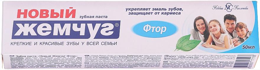 "Toothpaste ""Fluorine"" - New Pearl"