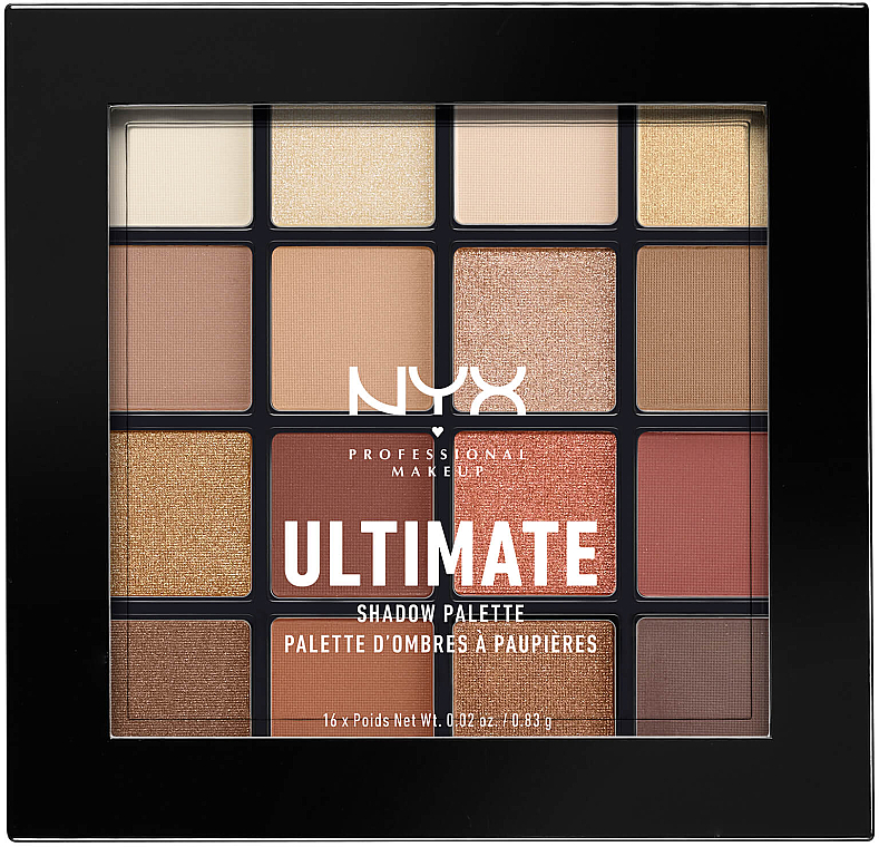 Shadow Palette - Nyx Professional Makeup Ultimate Shadow Palette