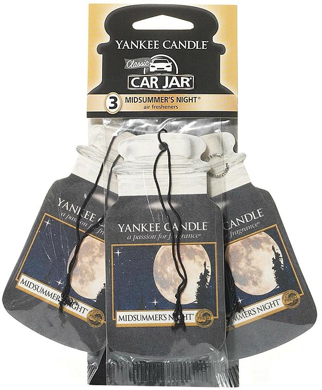 Car Air Freshener Set - Yankee Candle Car Jar Midsummers Night