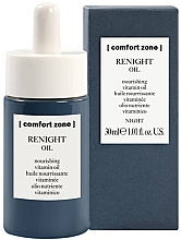 Fragrances, Perfumes, Cosmetics Night Nourishing Vitamin oil - Comfort Zone Renight Nourishing Vitamin Oil