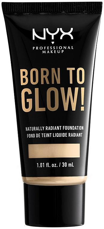 Liquid Foundation - NYX Professional Makeup Born To Glow