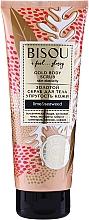 Fragrances, Perfumes, Cosmetics Gold Body Scrub - Bisou Lime&Marine Alga Gold Body Scrub