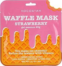 Fragrances, Perfumes, Cosmetics Toning Waffle Mask 'Strawberry Fresh' - Kocostar Strawberry Waffle Mask