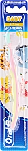 """Fragrances, Perfumes, Cosmetics Soft Toothbrush, """"Piglet"""", pink & yellow - Oral-B Baby"""