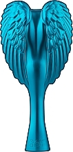 Fragrances, Perfumes, Cosmetics Compact Angel Hair Brush, turquoise - Tangle Angel Cherub Total! Turquoise Professional Detangling Brush