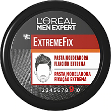 Fragrances, Perfumes, Cosmetics Modeling Hair Paste - L'Oreal Men Expert ExtremeFix