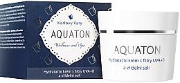 Fragrances, Perfumes, Cosmetics Moisturizing Cream with UVA+UVB Filter - Ryor Aquaton Face Cream