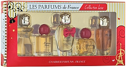 Fragrances, Perfumes, Cosmetics Charrier Parfums Collection Luxe - Set (edp/9.4ml+edp/9.3ml+edp/12ml+edp/8.5ml+edp/9.5ml)