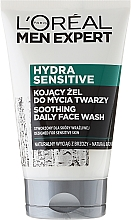 Fragrances, Perfumes, Cosmetics Soothing Face Wash Gel - Loreal Paris Men Expert Hydra Sensitive Face Wash