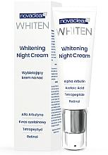 Fragrances, Perfumes, Cosmetics Night Face Cream - Novaclear Whiten Whitening Night Cream