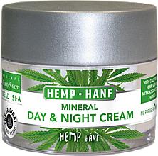 Fragrances, Perfumes, Cosmetics Facial Dead Sea Minerals & Hemp Cream - Mineral Beauty System Dead Sea Minerals & Cold Pressed Hemp Oil Day And Night Cream