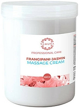 "Fragrances, Perfumes, Cosmetics Massage Cream ""Frangipani & Jasmine"" - Yamuna Massage Cream"