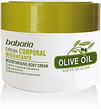 Fragrances, Perfumes, Cosmetics Body Cream 100& Olive Oil - Babaria Olive Oil Nourishing Body Cream