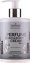 Fragrances, Perfumes, Cosmetics Perfumed Hand & Body Cream - Farmona Professional Perfume Hand&Body Cream Men