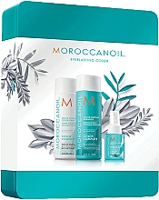 Fragrances, Perfumes, Cosmetics Set - Moroccanoil Color Complete Holiday Set (shmp/250ml + h/cond/250ml + h/spr/50ml)