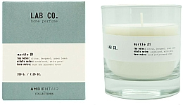Fragrances, Perfumes, Cosmetics Scented Candle - Ambientair Lab Co. Myrtle