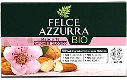 "Fragrances, Perfumes, Cosmetics Soap ""Almond"" - Felce Azzurra Bio Mandorla Soap"