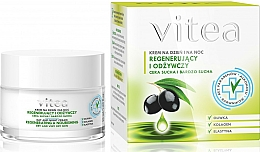 "Fragrances, Perfumes, Cosmetics Face Cream ""Regenerating and Nourishing"" - Vitea Regenerating and Nourishing Face Cream"