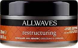 Fragrances, Perfumes, Cosmetics Chocolate & Keratin Hair Mask - Allwaves Chocolate And Ceratine Restructuring Mask