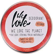 Fragrances, Perfumes, Cosmetics Natural Creamy Deodorant - We Love The Planet Deodorant Sweet & Soft