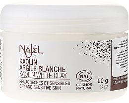 """Fragrances, Perfumes, Cosmetics Cosmetic Clay """"White"""" - Najel Clay In Powder White"""