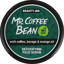 "Fragrances, Perfumes, Cosmetics Detox Face Scrub ""Mr. Coffee Bean"" - Beauty Jar Detoxifying Face Scrub"