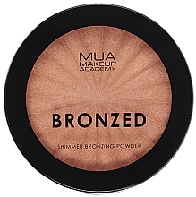 Fragrances, Perfumes, Cosmetics Shimmer Bronzing Powder - MUA Bronzed Shimmer Bronzing Powder Solar Shimmer