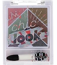 Fragrances, Perfumes, Cosmetics Eyeshadow Palette - Avon Color Trend Chic Look Eyeshadow Palette