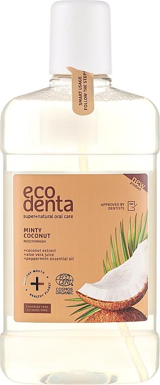 Mouthwash - Ecodenta Cosmos Organic Minty Coconut