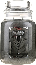 Fragrances, Perfumes, Cosmetics Scented Candle in Jar - Country Candle Grey