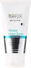 Fragrances, Perfumes, Cosmetics Mineral Hand Peeling - Bielenda Professional Mineral Hand Scrub