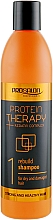 Fragrances, Perfumes, Cosmetics Sulfate-Free Hair Shampoo - Prosalon Protein Therapy + Keratin Complex Rebuild Shampoo