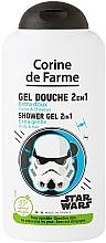 Fragrances, Perfumes, Cosmetics Shampoo & Shower Gel 2 in 1 for Boys - Corine de Farme Star Wars Force